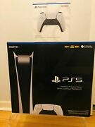 Ps5 Sony Playstation 5 Digital Console Bundle Free 2 Day Shipping Express New