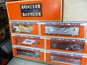 O Scale- Lionel- 1989 Limited Ed. Cp Rail Freight Car Set-in Box J2