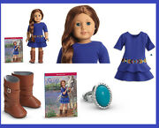 New American Girl Doll Year Saige 18 Boots Cowgirl Horse Riding Western Boots