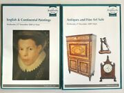Brightwells Catalogues 2009 English And Continental Paintings Antiques Fine Art