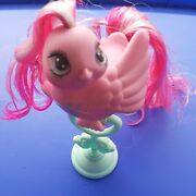 My Little Pony 1980s Vintage Fairy Tails Bird With Perch