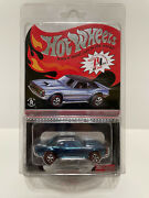 2013 Hot Wheels And03968 Chevy Copo Camaro Rlc Only 4000 Made Exclusive Redlines Blue