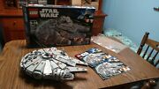Lego Star Wars Millennium Falcon Set 7965 100 Complete With Box And Instructions