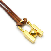 Price Used/pawn Shop Hermes Cadena Necklace In Search Of The Beauty Unknown