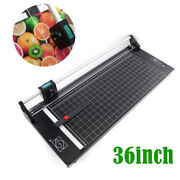 36 Manual Precision Rotary Paper Trimmer Sharp Photo Paper Cutter Photography
