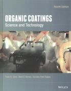 Organic Coatings Science And Technology Hardcover By Jones Frank N. Nich...