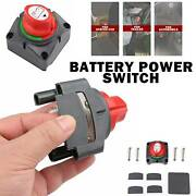 Dual Battery Selector Switch Disconnect Cut Rotary For Marine Boat Rv Vehicles