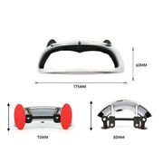 Motorcycle Wide Angle Rear View Blind Spot Mirror 180+ Safety Auxiliary Mirror