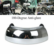 Motorcycle Rearview Safety Auxiliary Mirror Blind Spot Mirrors 180+ Wide Angle