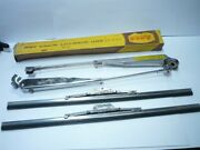 1949 -54 Chrysler Desoto Dodge Plymouth Shiny Wiper Arms And Blades