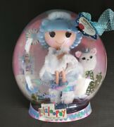 Lalaloopsy Ivory Ice Crystals Full Size Doll New Holiday Collector Edition Globe