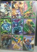Flair 1995 Marvel Annual Fleer Ultra Spiderman Etc Large Lot Of 60+ Cards