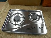 Capital 1204ss 2 Burner Drop-in Cooktop Stainless Steel Rv Free Ship 42