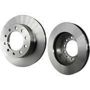 Disc Brake Rotor For 2005-2016 Ford F-450 Super Duty Front Solid 2-wheel Set