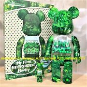 Bearbrick Medicom 2021 My First Baby Forest Green Ver. 100 400 Be@rbrick B@by