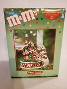 Department 56 Mandmand039s Lighted Candy House And Candy Dish 2004