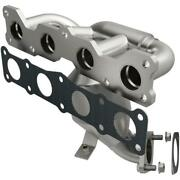 Catalytic Converter With Integrated Exhaust Manifold For 2013 Hyundai Sonata