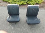 1965 1966 Mercury Cyclone Comet Bucket Seat Set Front/rears Ford