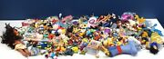 Used Lot 15 Pounds Mixed Disney Toy Figures Cake Toppers Pixar Dolls Vtg Modern