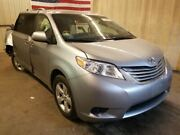 2015-2019 Toyota Sienna Left Front Driver Door Silver Electric Windows 689458