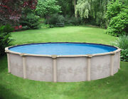 18and039 X 52 Above Ground Resin Pool Package Costa Del Sol Lifetime Warranty