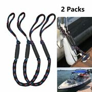 Bungee Dock Line Mooring Rope For Boat Cord Dock Line Kayak Accessories 2 Pcs