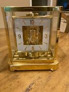 Vintage 1963 Lecoultre Atmos Clock Model 528 Serial 169296 Working