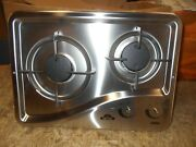 Capital 1204ss 2 Burner Drop-in Cooktop Stainless Steel Rv Free Ship 44