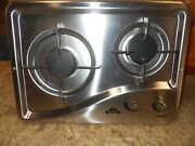 Capital 1204ss 2 Burner Drop-in Cooktop Stainless Steel Rv Free Ship 46