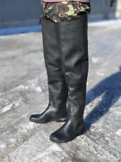 Menand039s Boots Rubber Insulated Waterproof Boots For Hunting Fishing Tall Boots