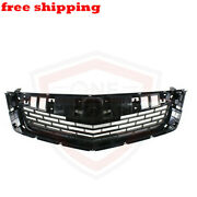 New Front Grille Black For 2009-2010 Acura Tsx Sedan 4-dor Ac1200113 71121tl2a00