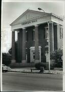 1989 Press Photo The Thespian Hall In Boonville, Missouri Continuing Restoration
