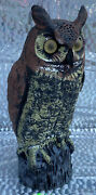 Owl Decoy 1990 Orion Products Inc. Made In America  Owl