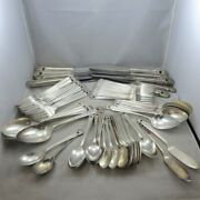 Large Craft Lot Vintage 1847 Rogers Bros Silver Plated Flatware Eternally Yours
