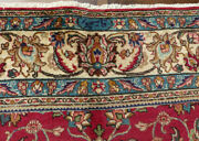 7and0394x11and0394 Signed Fine Handmade Wool Tabrizz 200 Kpsi Oriental Area Rug
