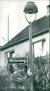 1989 Lamps There Were Frankfurt About Gas Lanterns - Vintage Photograph 4054536
