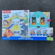 Fisher Price Little People Launch And Loop Raceway Vehicle Play Set