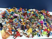 Used Lot 16 Pounds Mixed Disney Toy Figures Cake Toppers Pixar Dolls Vtg Modern
