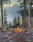 Darrell Bush Room With A View Artistand039s Proof Canvas