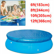 Round Swimming Pool Cover For Outdoor Garden Paddling Family Frame Pools Cover