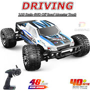 110 Scale Deerc 9200e Rc Cars 4wd Off Road Monster Truck With 2 Batteries Toys