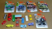 17 Toy Cars - Matchbox, Tootsietoy, Minix, Marx, Etc. - Some Are Old Metal Cars