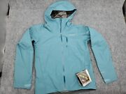 Menand039s Size Small Calcite Gtx Rain Wind Proof Jacket 249 Blue Gore-tex