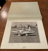 Original Photo For B And W Advertising Brochure Bede Bd-1 Bede Aviation Airplane