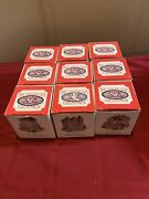 Lot Of 9 Liberty Falls The Americana Collection New In Original Boxes
