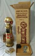 1973 In Box Schlitz Lighted Sign Globe Beer Advertising Tower Cover Tap Handle