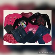 Girls Size 14-16 Huge Clothing Lot Jeans Tops Shirts Children's Place Justice