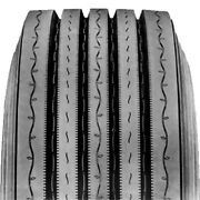 4 Tires Ironhead Ifl200-fs 285/75r24.5 Load G 14 Ply Steer Commercial
