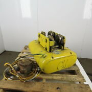 Cm Chisholm-moore 5815 1-1/2ton Electric Hoist Wire Rope 480v 3ph 20and039 Lift 18fpm