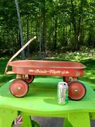 Vintage 1930s Dixie Flyer Jr. Red Wagon